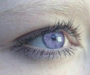 eyes, purple, and aesthetic image