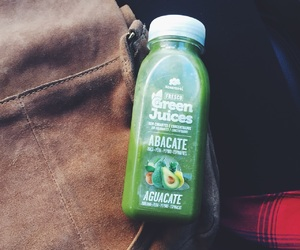 breakfast, drink, and green juice image