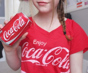 coca cola, red, and tumblr image