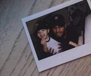 daughter and bryson tiller image