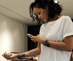 rihanna, tattoo, and riri image