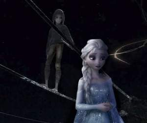 jack, elsa, and rise of the guardians image