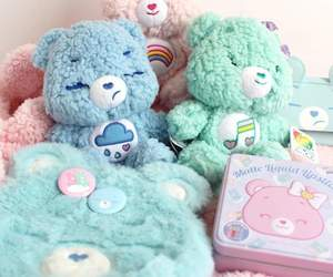 bear, bears, and blue image