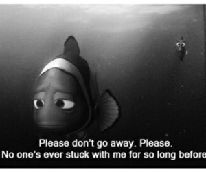 nemo, quotes, and sad image