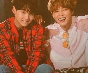 yoonmin, jimin, and bts image
