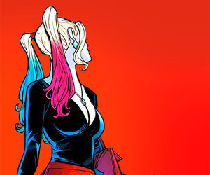 harley quinn, DC, and harleen quinzel image