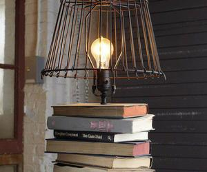 book, lamp, and light image