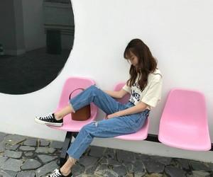girls, korean, and tumblr image