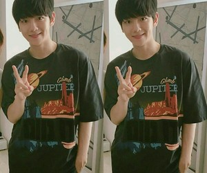 baekhyun, exo, and cute image