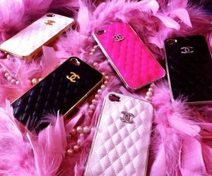 accessories, chanel, and pink image
