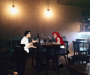 ariel, love, and art image
