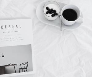 coffee, lifestyle, and magazine image