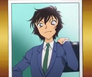 anime girl, sera, and detective conan image