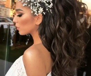 accessories, beauty, and hair image