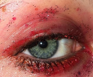 aesthetic, eye, and pale grunge image