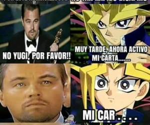 Leonardo di Caprio, meme, and yami image