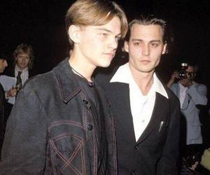 johnny depp, leonardo dicaprio, and grunge image