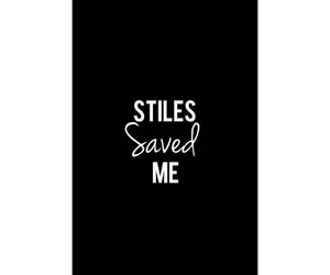 black, tumblr, and stiles image