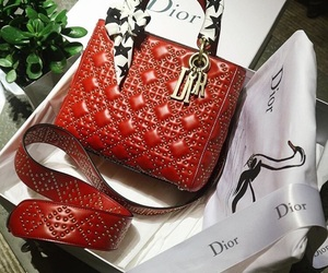 bag, classic, and dior image