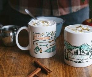 autumn, coffee, and cozy image