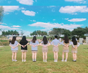 asian girls, freedom, and korean girls image