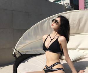 bikini, ulzzang, and girl image