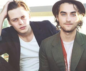 hemlock grove, landon liboiron, and bill skarsgård image