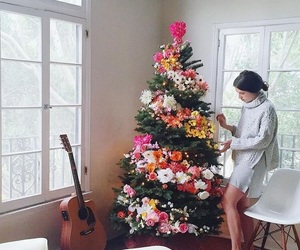 christmas, cozy, and christmas tree image