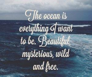 mysterious, ocean, and quotes image