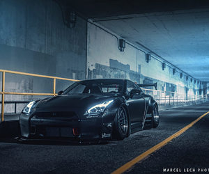 nissan, liberty walk, and gtr image