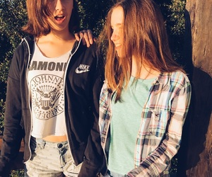 bff, friendship, and sunlight image