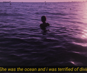 ocean, quote, and beautiful image