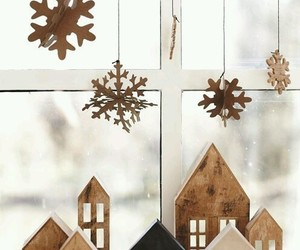 brown, winter, and decor image