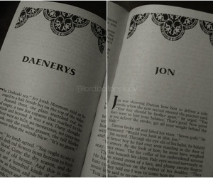 book, game of thrones, and daenerys image