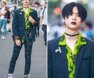 accessories, alternative, and choker image