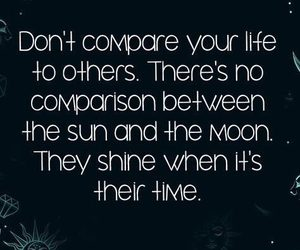 quotes, shine, and moon image
