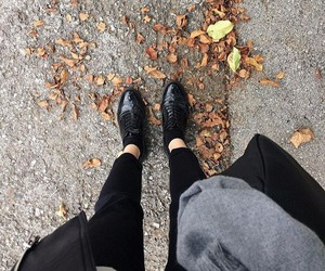 autumn, trip, and trousers image