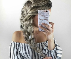 fashion, beauty, and hair image