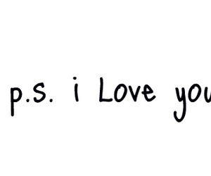 love, I Love You, and ps image