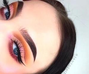 makeup, cut crease, and beauty image