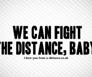 couple, distance, and don't give up image