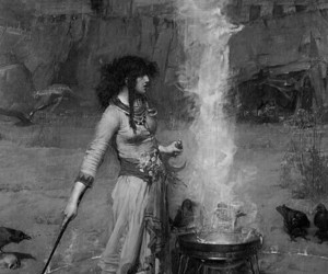 arte, sorcery, and witchcraft image
