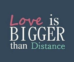 distance, long distance love, and ldr image