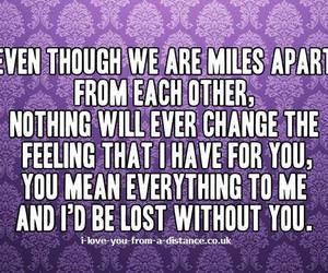 distance, ldr, and love image