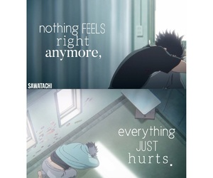 anime, deep, and quote image