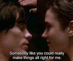 movie scene, poem, and romance image