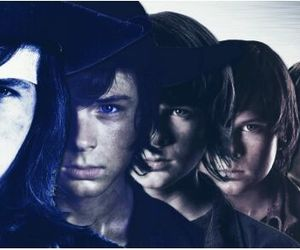 twd, chandler riggs, and twd edits image