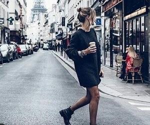 paris, fashion, and travel image