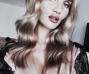 girl, model, and rosie huntington image