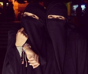 beauty, girls, and niqab image